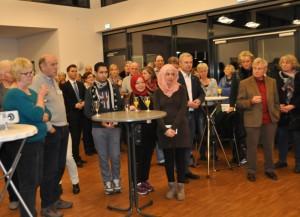 Viele Besucher beim Neujahrsempfang der Flüchtlingsinitiative Lindlar